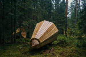 Megáfonos gigantes amplifican el sonido del bosque