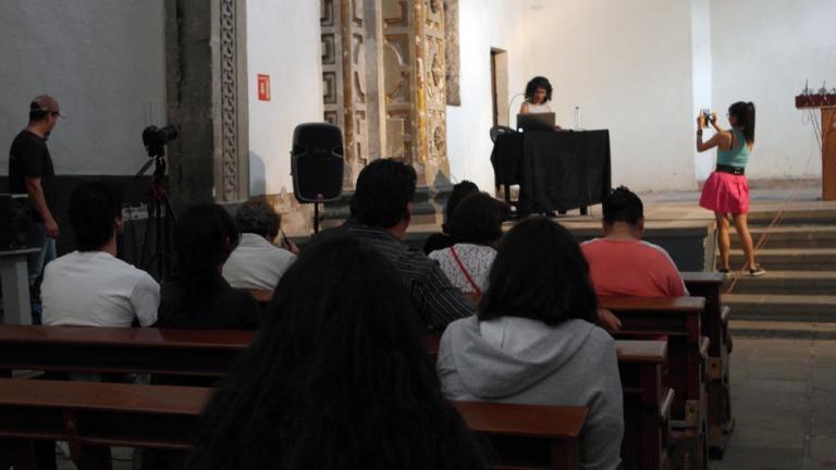"""Charla en ExTeresa Arte Actual en el marco de """"Museos y Paisajes Culturales"""", tema para el Día Internacional de los Museos / ICOM 2016, México"""