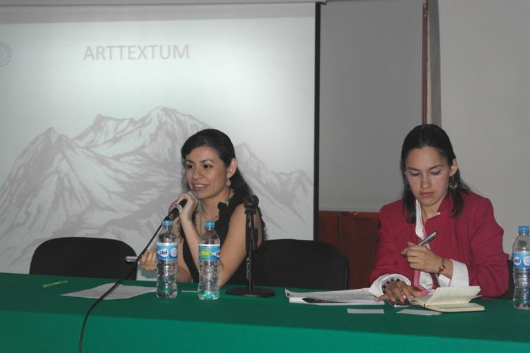 Charla en la Primera Jornada de Paisajes Patrimoniales, Investigación y Gestión en el Siglo XXI, 2014, Puebla, México