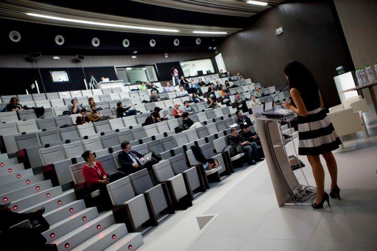 Charla en el V Congreso Iberoamericano de Cultura Zona de Experiencias, 2013, Zaragoza, España