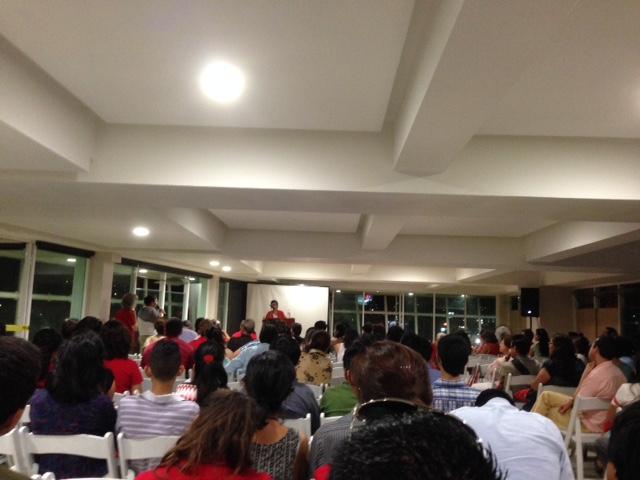 Charla en el 6to Congreso Internacional de Sociología, Construcción de ciudadanías: nuevas realidades y miradas interpretativas, en el Caracol, Centro Científico y Cultural de Ensenada, 2014, Baja California, México