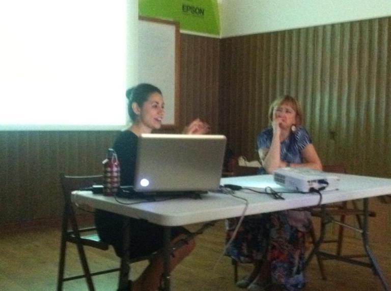 Charla en Sala de Ideas Tabacalera, espacio Promoción del Arte, 2013, Madrid, España