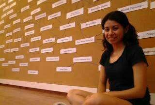 Exposición de la instalación de artistas de Arttextum, Tabacalera, Espacio Promoción del Arte, 2013, Madrid, España