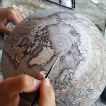 Globe-Making Studios Celebrates the Ancient Art of Handcrafter Globes