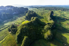 Unseen Cuba: First aerial photographs reveal island's spectacular beauty