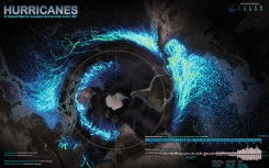 IX.2 Hurricanes & Tropical Storms—Locations and Intensities since 1851