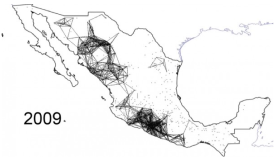 Mapping Mexico's deadly drug war