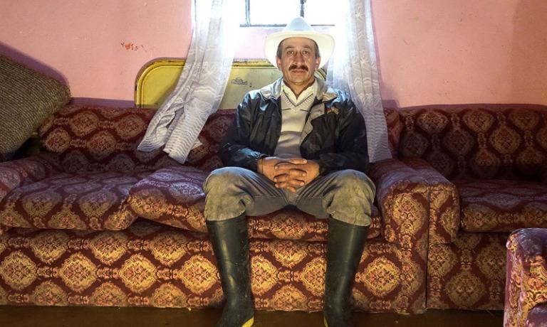 """Óscar Moreno Escárraga, """"La casa de la frontera"""", 2015. Jaime Beltrán."""
