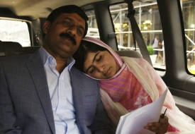 "Malala's father: ""She is the spirit of happiness in this house"""