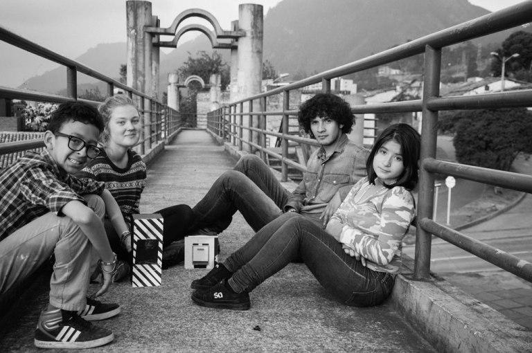 Recorrido por el Barrio de Bogotá con camaras pin-hole del proyecto FUTUROSCOPIO, Bogotá