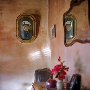 Florencia Blanco, Lucas, de la serie Painted Photos, 2005. © Florencia Blanco, 2005.