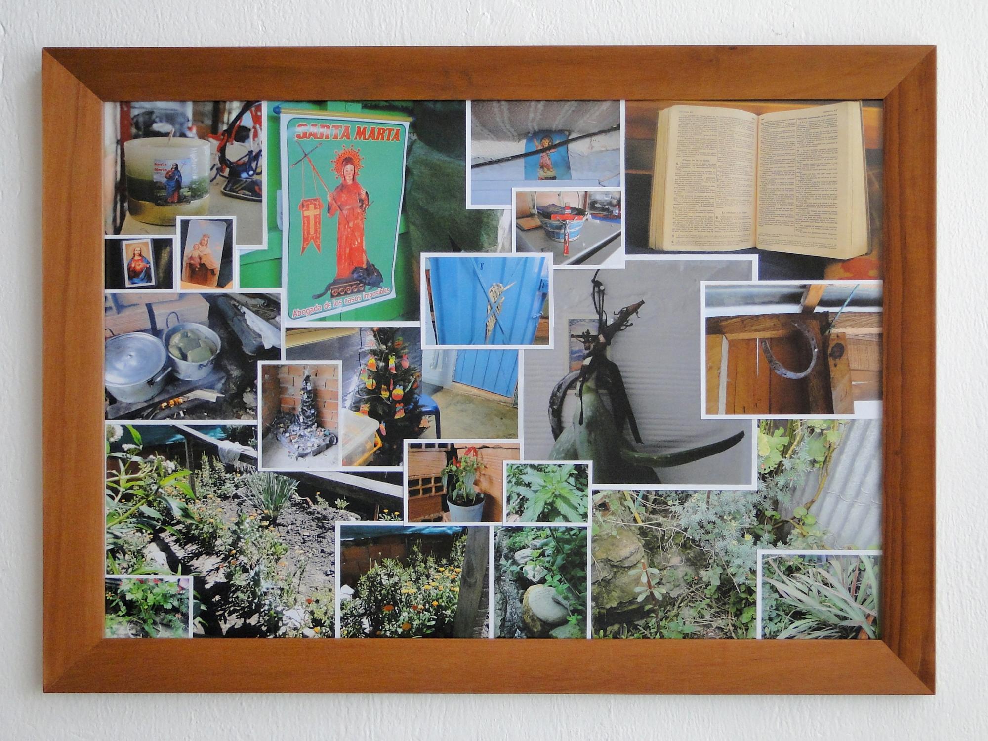 Mi Casa Mi Cuerpo: Migración Forzosa, Memoria y Creación Colectiva, 2008-2011. Atlas de creencias y tradiciones. © Óscar Moreno Escárraga, 2011.