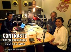 Contraste, Gaceta radiofónica de la FAD, Taxco