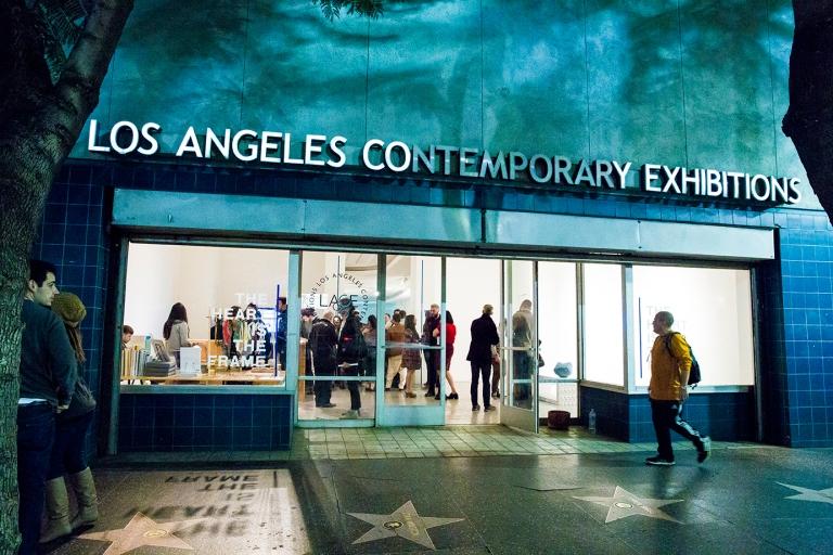 Charla en Los Angeles Contemporary Exhibitions LACE, 2017, Los Angeles, California, USA