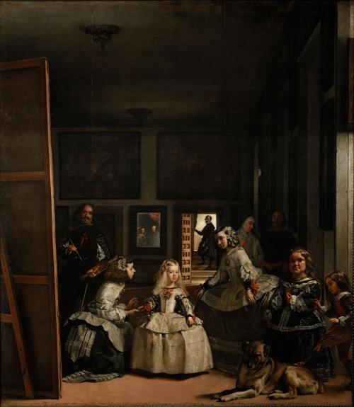 """Intuición es un espejo que refleja un momento del tiempo [Diego Rodríguez de Silva y Velázquez, """"Las Meninas""""]"""