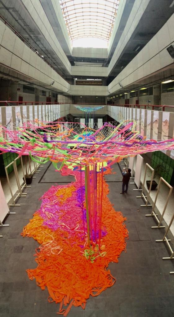 Exposición en las instalaciones del Edificio W, Universidad Autónoma Metropolitana, 2018, Ciudad de México, México